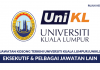 Universiti Kuala Lumpur (UNIKL) ~ Eksekutif & Lain Lain Jawatan