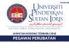 Permohonan Jawatan Kosong Universiti Pendidikan Sultan Idris (UPSI) Dibuka