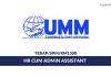 Usahamaju Magnet ~ HR cum Admin Assistant