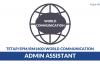World Communication ~ Admin Assistant