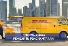 DHL ECommerce ~ Pembantu Penghantaran