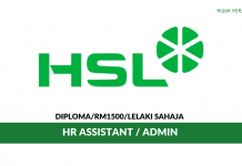 HSL Constructor ~ HR Assistant / Admin
