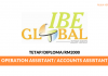 IBE Global ~ operation / Account Assistant