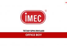 IMEC ~ Office Boy