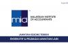 Permohonan Jawatan Eksekutif Institut Akauntan Malaysia (MIA)