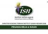 Permohonan Jawatan KosongPegawai Belia & Sukan Institut Sukan Negara (ISN)