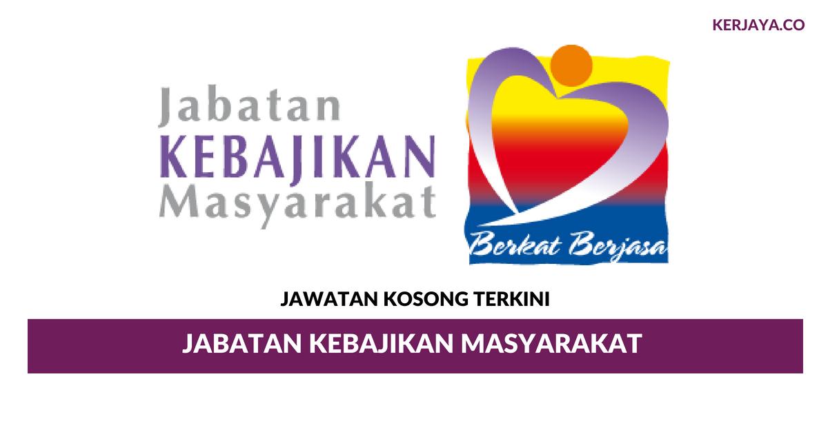 Jabatan Kebajikan Masyarakat Negeri Kedah Darul Aman Kerja Kosong Kerajaan