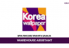 Korea Wallpaper ~ Warehouse Assistant