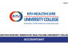 Kpj Healthcare University College ~ Accountant