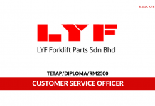 LYF Forklift Parts ~ Customer Service Officer