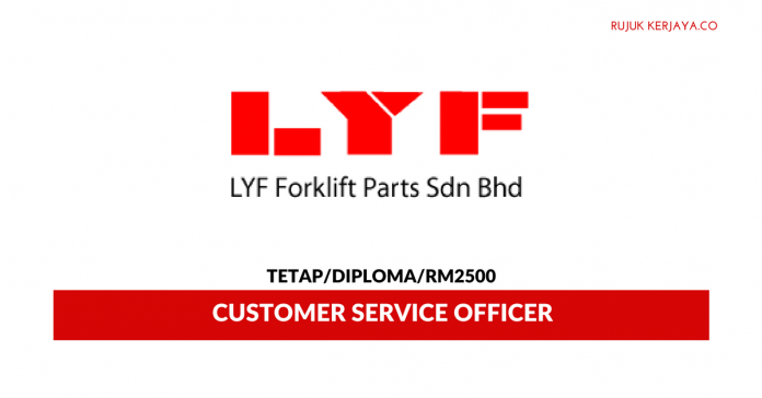 LYF Forklift Parts ~ Customer Service Officer