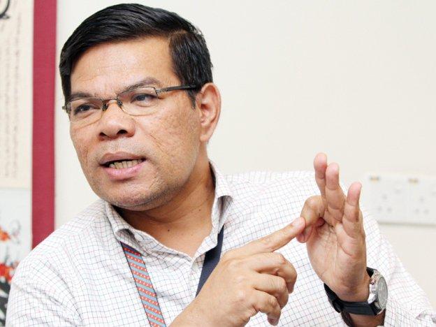 Menteri Perdagangan Dalam Negeri dan Hal Ehwal Pengguna- Datuk Saifuddin Nasution Ismail