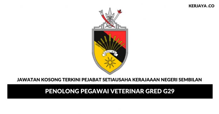 Permohonan Jawatan Kosong Pejabat Setiausaha Kerajaaan Negeri Sembilan di Buka