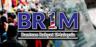 Pemberian & Permohonan BR1M Akan Diteruskan Untuk Penjawat Awam & Warganegara Yang Layak