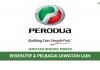 Perusahaan Otomobil Kedua Berhad (PERODUA) ~ Eksekutif & Pelbagai Jawatan Lain