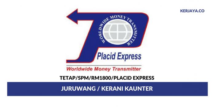 Placid Express ~ Kerani Kaunter