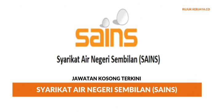 Permohonan Jawatan Kosong Syarikat Air Negeri Sembilan (SAINS)