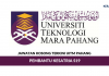Permohonan Jawatan Kosong UiTM Pahang