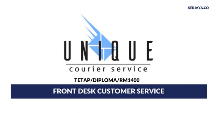 UniqCourier Services ~ Front Desk Customer Service