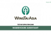Wing Tai Clothing ~ Warehouse Assistant