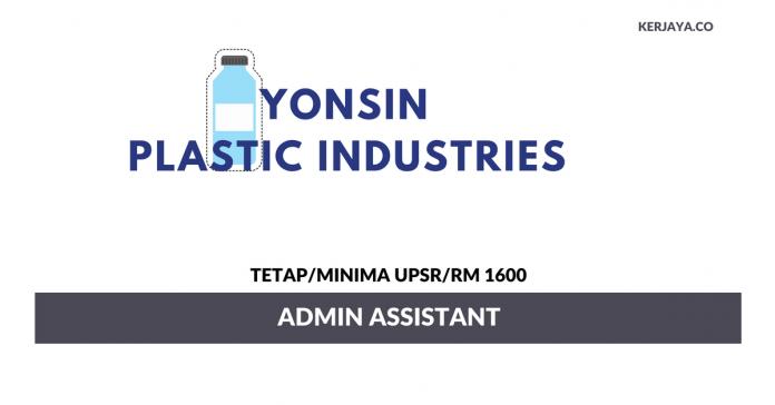 Yonsin Plastic Industries ~ Admin Assistant