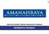 Amanah Raya Berhad ~ Pembantu Pejabat