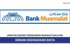 Permohonan Jawatan Kerani Kemasukan Data Bank Muamalat Malaysia
