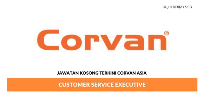 Jawatan Kosong Terkini Corvan Asia Sdn Bhd