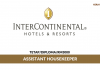 InterContinental Hotels ~ Assistant Housekeeper
