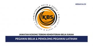 Pegawai Belia & Penolong Pegawai Latihan di Kementerian Belia & Sukan