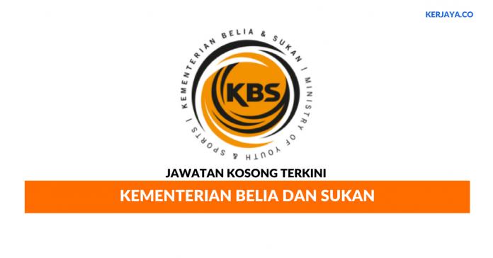 Jawatan Kosong Terkini Kementerian Belia dan Sukan