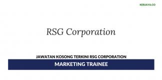 Permohonan Jawatan Kosong RSG Corporation