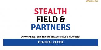 Permohonan Jawatan Kosong Stealth Field & Partners