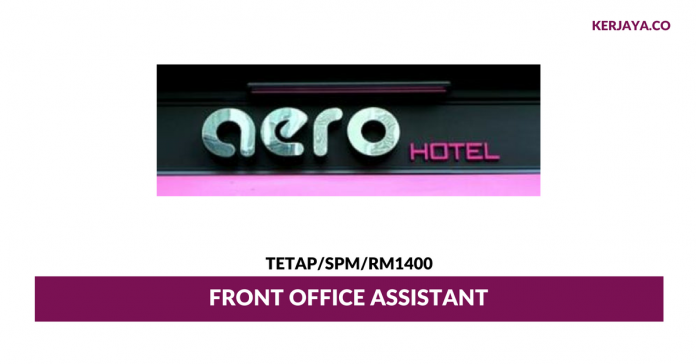 Hotel Aero ~ Front Office Assistant