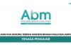 Permohonan Jawatan Kosong Tenaga Pengajar Akademi Binaan Malaysia (ABM) di Buka
