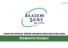 Akademi Sains Malaysia (ASM) ~ Pembantu Pejabat