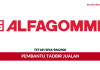 Pembantu Tadbir Jualan Alfagomma ~ Minima SPM / Gaji RM2500