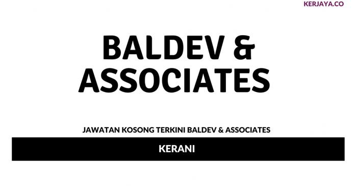 Permohonan Jawatan Kosong Baldev & Associates