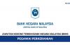 Bank Negara Malaysia (BNM) ~ Pegawai Perkeranian