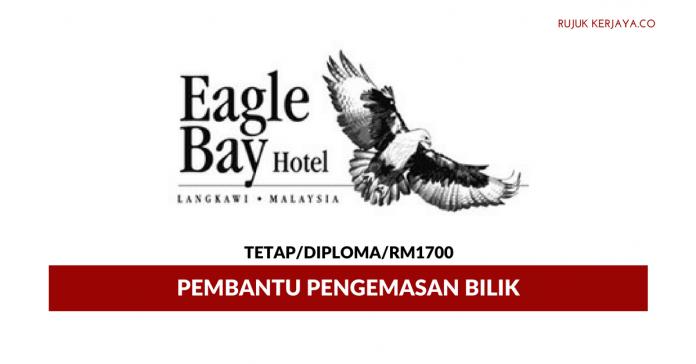 Pembantu Pengemasan Eagle Bay Hotel, Langkawi ~ Gaji RM1700