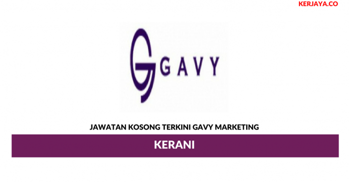 Permohonan Jawatan Kosong Gavy Marketing