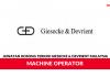 Giesecke & Devrient Malaysia ~ Machine Operator