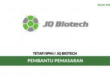 Pembantu Pemasaran JQ Biotech