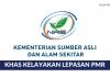 Kementerian Sumber Asli & Alam Sekitar ~ Kelayakan Lepasan PMR Seluruh Negeri 2018
