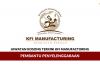 Permohonan Jawatan Kosong Kfi Manufacturing