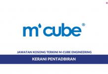 Permohonan Jawatan Kosong M-Cube Engineering