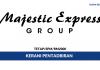 Kerani Pentadbiran Majestic Express Holidays ~ Gaji RM2000/Wanita Sahaja