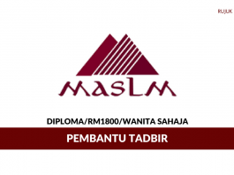 Pembantu Tadbir Malaysian Academy Of Supply Chain & Logistics Management