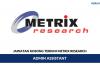 Permohonan Jawatan Kosong Metrix Research