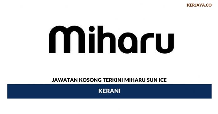 Permohonan Jawatan Kosong Miharu Sun Ice